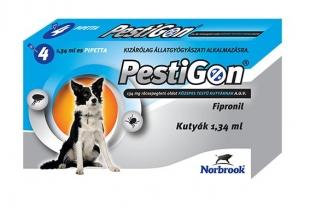 PESTIGON SPOT ON M 4X 10-20KG / 4 DB PIPETTÁVAL! állatgyógyszertár