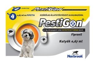 PESTIGON SPOT ON S 4X 2-10KG / 4 DB PIPETTÁVAL! állatgyógyszertár
