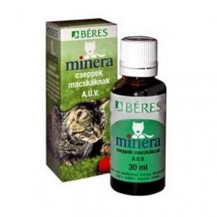 Béres Minera csepp macskáknak állatgyógyszertár
