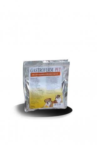 Gastroferm Pet probiotikum+vitamin por állatgyógyszertár