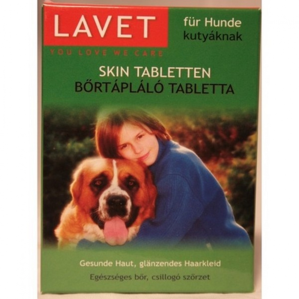 """Képtalálat a következőre: """"Lavet skin Tabletta kutyáknak"""""""