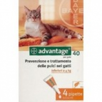 ADVANTAGE 40 CAT/RABBIT 4KG-IG