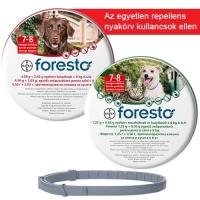 Foresto bolha és kullancs elleni nyakörv macskáknak